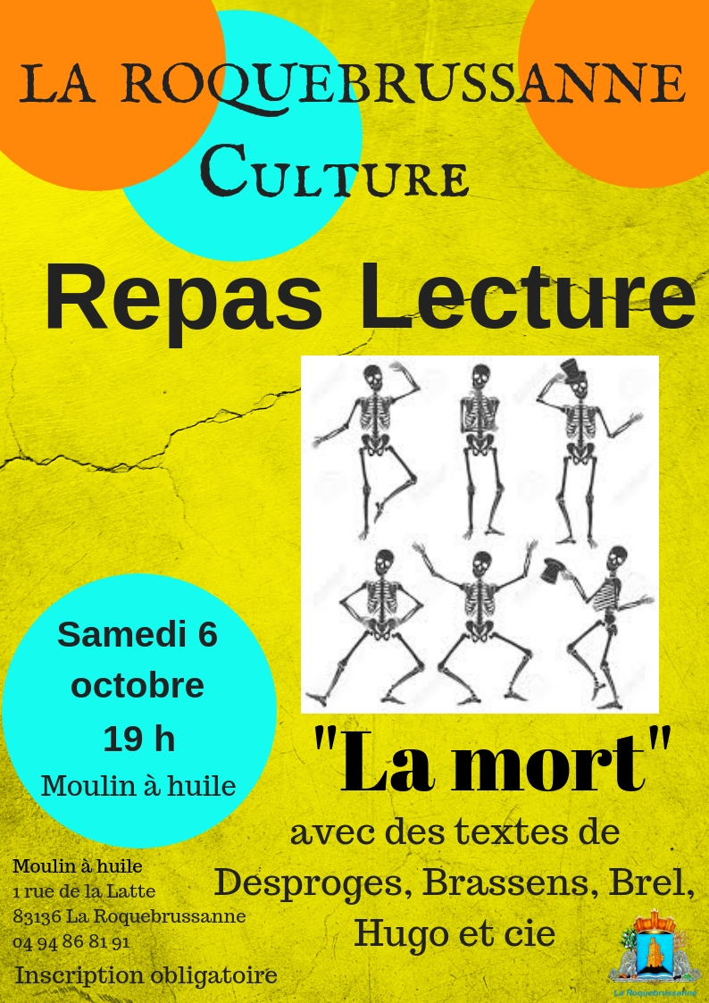 Repas lecture oct 18